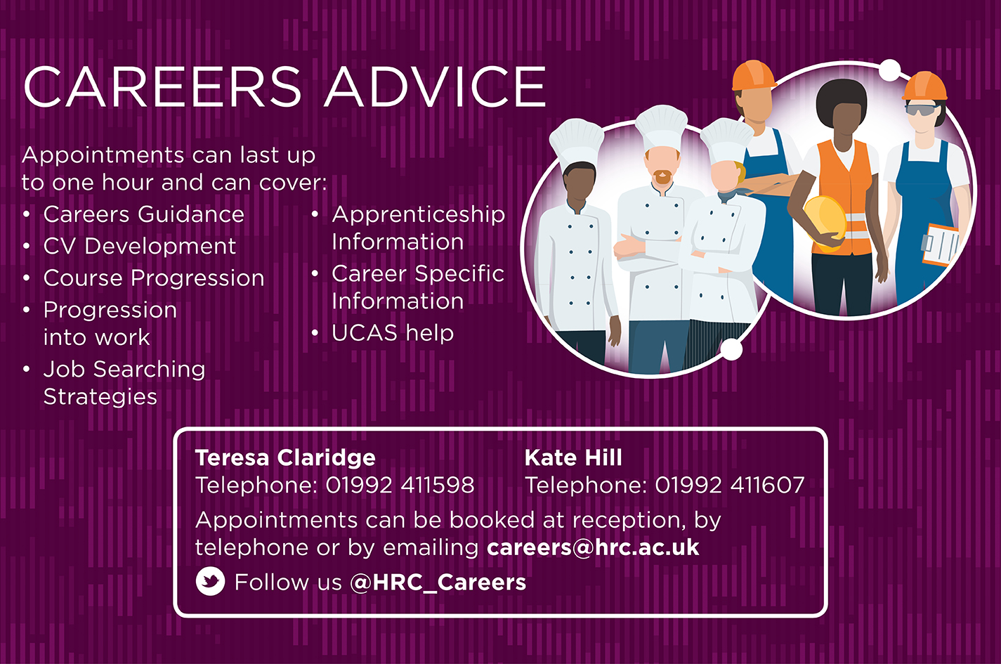 Careers Advice Screen 2020